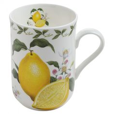 Orchard Fruits Becher Zitrone, Geschenkbox, Porzellan, PB8008