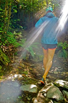I Love Running! Especially trail running. It is the best way to relax and can change the direction of my day completely around when I am having a bad day :)