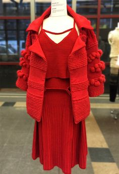 FIT Future of Fashion Judging Day 2016 - Knitwear Part One
