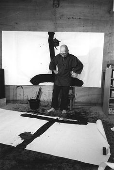 YU-ICHI in his studio 1984 |   Foto  Itô Tokio                                                                                                                                                                                 Mehr
