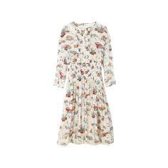 ファッション ❤ liked on Polyvore featuring dresses, prada and day dresses