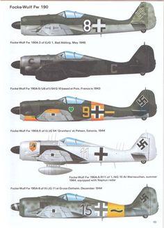 Focke-Wulf FW190 luftwaffe