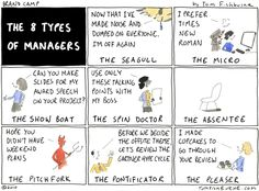 The 8 types of managers - Tom Fishburne