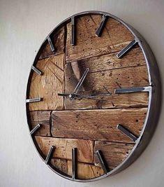 36 fabulous minimalist wall clocks DIY for modern living 36 fabelhafte minimalistische Wanduhren DIY für moderne Wohnkultur Ideen — 36 fabulous minimalist wall clocks DIY for modern home decor ideas – -