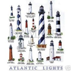 Lighthouse T Shirt Atlantic Collection Quilt Fabric Block Lighthouse Painting, Lighthouse Keeper, Lighthouse Pictures, Beacon Of Light, Inspiration Design, Sailing, Around The Worlds, Ocean, Techno