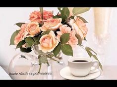 La o cafea (Invitation to Coffee) Glass Vase, Invitations, Make It Yourself, Erdem, Table Decorations, Coffee, Kaffee, Cup Of Coffee, Center Pieces