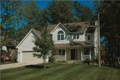 Traditional House Plans - Home Design Lancaster # 5205