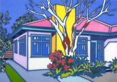 Howard Arkley - Large House & Garden 1997