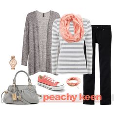 Peachy Keen by Coastal Style Blog