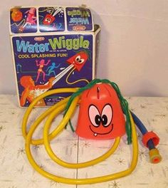 Water Wiggle, oh my goodness, do I remember this one! Hours of fun in the hot Texas summers :)