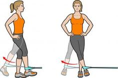 Weak hips are an often-overlooked cause of knee, back and ankle pain.  Here's how to make it vanish.