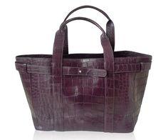 "Crocodile Handbag ""Verona"" www.atelierdoutremer.com Crocodile Handbags, Verona, Collection"