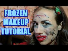 FROZEN MAKEUP TUTORIAL! - YouTube