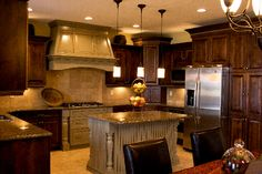Beautiful kitchen!   Country Haven Model Home ~ Nilson Homes