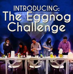 What The Hell Is In Eggnog, Anyway? Funny little article about people trying to make eggnog. Easy eggnog recipe at the end.