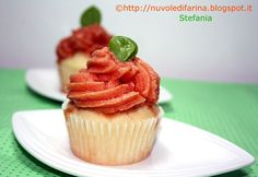 Tomato sorbet Cupcakes