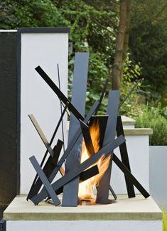62 impresionantes al aire libre Fuego Tazones Para añadir un toque acogedor a su patio trasero | DigsDigs
