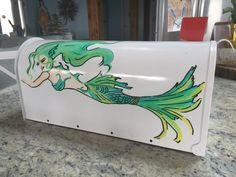 Mermaid Mailbox Etsy/BelleOceanne
