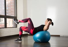 Abs Workout: Best Stability Ball Moves for Your Core | Greatist