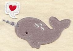 Narwhal (Applique)_image