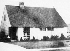 The Levitt homes..and the birth of Levittown, NY.  Acres of potato farmland turned into homes for the soldiers returning home from war!