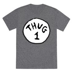 Thug 1 (red) | T-Shirts, Tank Tops, Sweatshirts and Hoodies | HUMAN