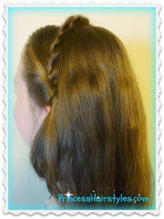 Cinderella hair tutorial