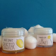 habitat at home: How to Make Age Spot Remover & Make-up Remover that Work!