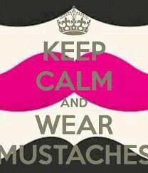 MUSTACHES !!!!