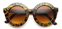 Amazon Oddities 8/5/16 -- Cross My Heart Sunglasses http://www.mashupmom.com/amazon-oddities-8516-cross-heart-sunglasses/