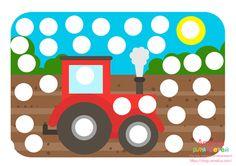 """Рисуем пластилином, картинки - раскраски для пластилина """"Пластилиновые заплатки"""" для развития мелкой моторики и знакомства с цветом Quiet Time Activities, Montessori Activities, Motor Activities, Toddler Activities, Diy For Kids, Crafts For Kids, Transportation Activities, Farm Animal Crafts, Do A Dot"""
