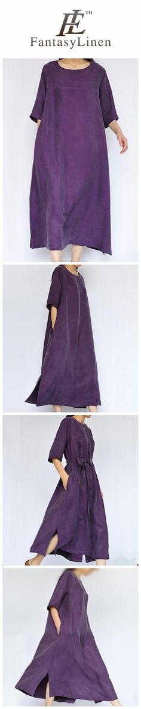 Purple Heavy Copper Ammonia Silk Women Dresses Caftans Gown  Q2226Purple
