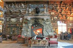 bass Pro Shop Bass Pro Shop, Trophy Rooms, Colorado, Rustic Fireplaces, Cabin Fever, Game Room, Man Cave, Building A House, Indoor