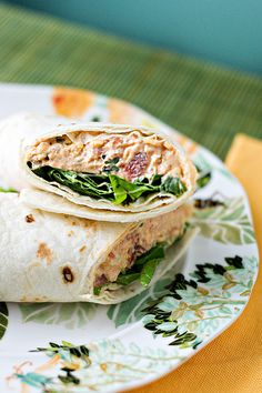 Chicken Enchilada Wraps by Courtney | Cook Like a Champion, via Flickr  Sub low-fat everything and remove the wrap.