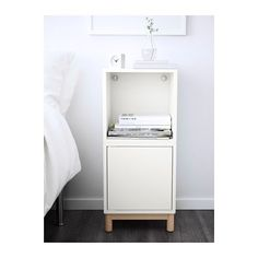 EKET Storage combination with legs - white - IKEA