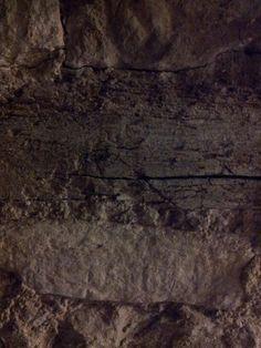 The cellar wall.