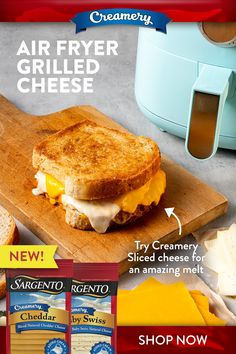 Air Fyer Recipes, Air Fryer Oven Recipes, Air Fryer Dinner Recipes, Cooking Recipes, Air Fryer Cooking Times, Cooks Air Fryer, Air Fried Food, Grilled Cheese Recipes, Recipes