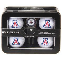 Divot Tools 108166: Arizona Wildcats 2016 4 Golf Ball And Divot Tool Set - Ncaa BUY IT NOW ONLY: $34.99