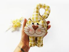 Door hanging Wall hanging Cat door hanging Cat doll by DooDesign, $15.90