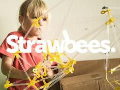 Excellent prototyping tool. Hope they get funded! STRAWBEES - dream BIG, build BIGGER! by CREATABLES — Kickstarter