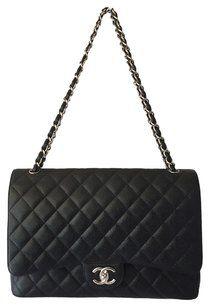 ad17b34ab998f Chanel Vintage Double Large Flap Shoulder Bag Luxury Closet