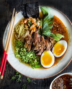 Roasted Duck Ramen Bowl