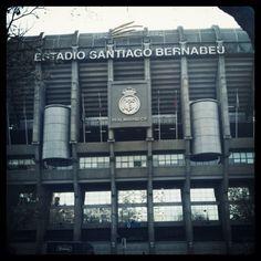 Santiago Bernabeu, Madrid Real Madrid, San Santiago, Real Soccer, San Francisco Ferry, Big Ben, Spain, Around The Worlds, Characters, Building