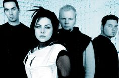 Evanescence.She rocks with her crystal blue eyes!!