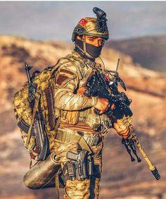 A Gendarmerie Commando with Sniper Rifle.
