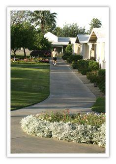 Afternoon Stroll Phoenix Manor Manor Photo Retirement Community
