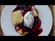 Blintzes are an iconic and beloved Eastern European Jewish food — thinly cooked pancakes (crepes) filled with potato, vegetables or . Kosher Recipes, Cooking Recipes, Kosher Food, Cheese Blintzes, Crepes Filling, How To Make Crepe, Blueberry Compote, Food Signs, Tasty