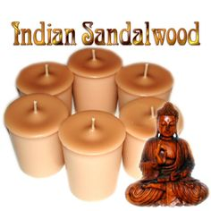 Hey, I found this really awesome Etsy listing at https://www.etsy.com/listing/80780326/6-indian-sandalwood-votive-candles