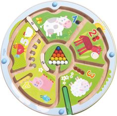 HABA Number Maze Magnetic Game STEM Toy Encourages Color Recognition, Fine Motor and Counting -- You can get additional details at the image link. (This is an affiliate link)