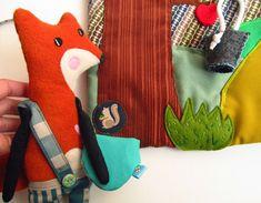 """agatownik - handmade & kids & design toys & quietbook: """"Lisek i przyjaciele"""" - III nagroda w VIII Konkursie """"Zabawka Przyjazna Dziecku"""""""